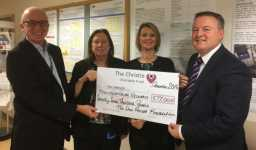 SPF donates £77k to The Christie for Pseudomyxoma Research