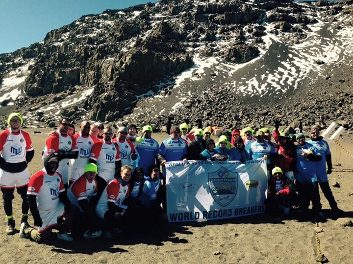 Spectrum Kilimanjaro Challenge 2015 – World Record breakers