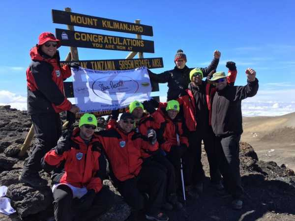 The Kilimanjaro Challenge 2017 for the Steve Prescott Foundation