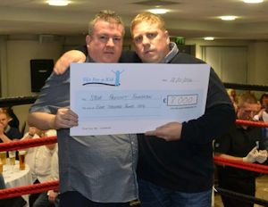 Wolfies Boxing Event Raises £8k for SPF
