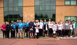 Grand final charity walk sees handepay smash £10k fundraising target