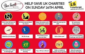 The 2.6 Challenge | Help save the UK's charities