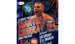 A Night with Martin Murray & Friends