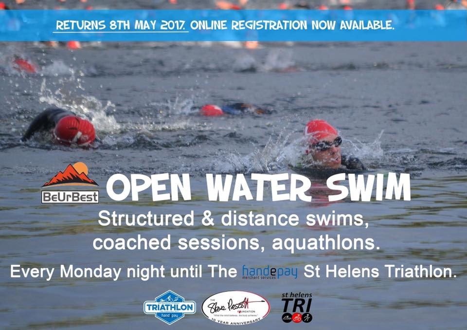 Open Water Swim returns for the Handepay St Helens Triathlon