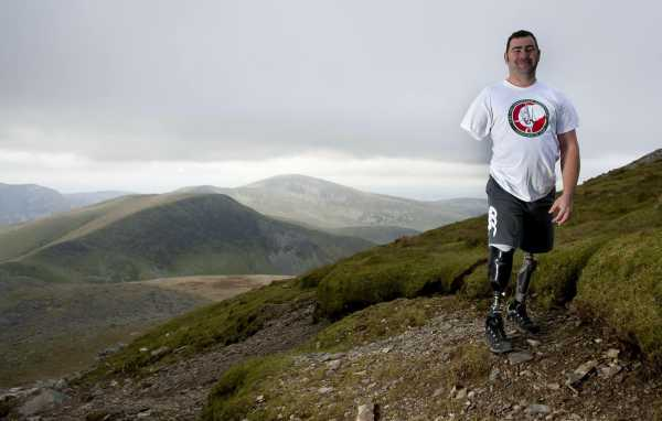 Andy Reid signs up for The SPF Three Peaks Celebration Challenge