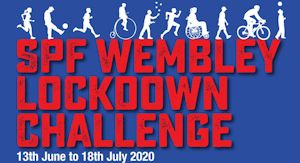 SPF Wembley Lockdown Challenge | 13th June to 18th July