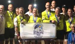Team K3 Zadara Race Across Europe Cycle team Smash 3000mile course record