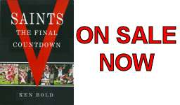 Saints supporter book now on sale