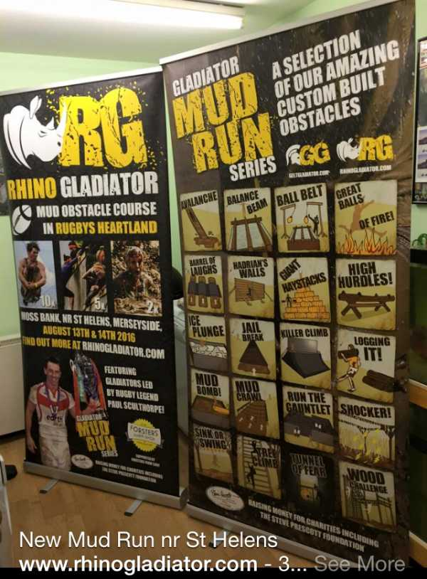 Rhino Gladiator | Shoots Delph Farm, Moss Bank, St Helens | August 13th & 14th
