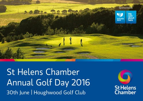 St Helens Chamber Annual Golf Day 2016